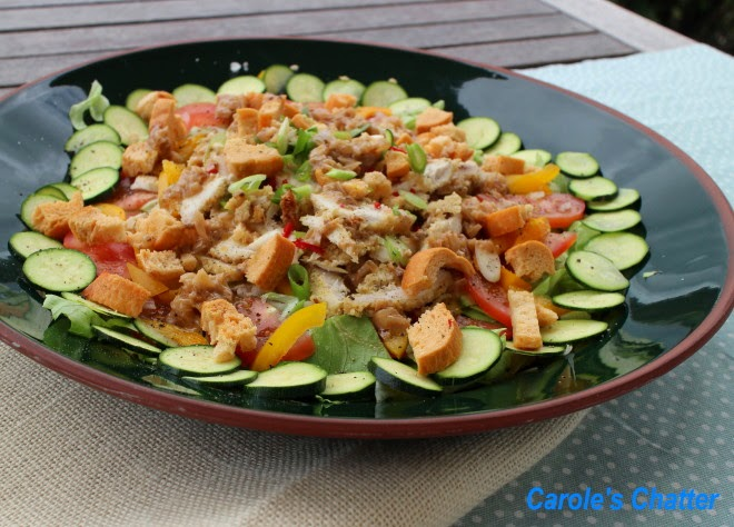 Mustard Chicken Salad by Carole's Chatter