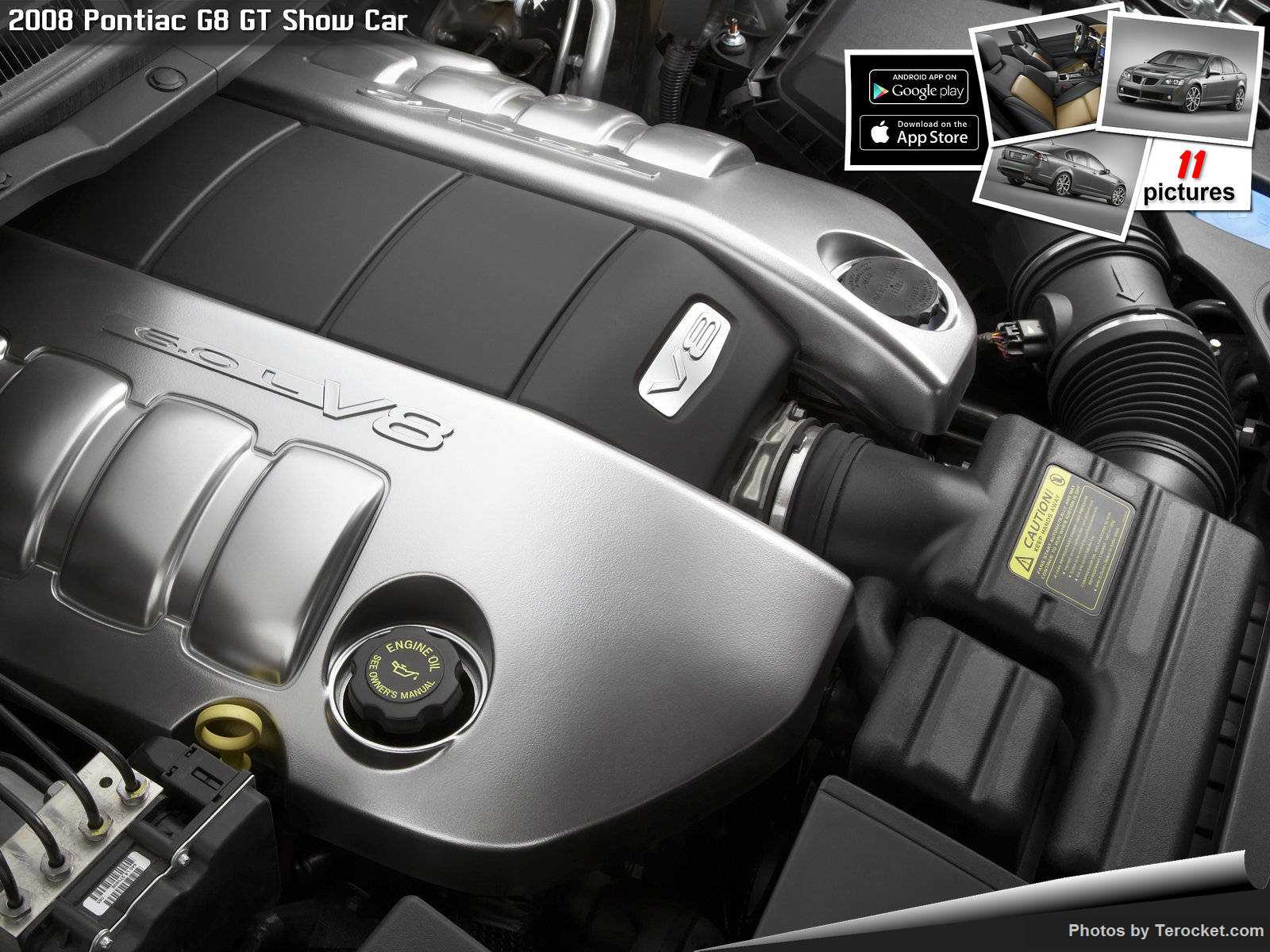 Hình ảnh xe ô tô Pontiac G8 GT Show Car 2008 & nội ngoại thất