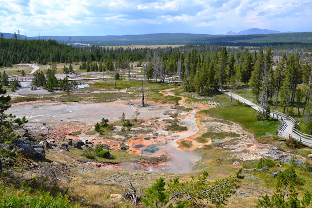 yellowstone mud pots artist paintpots