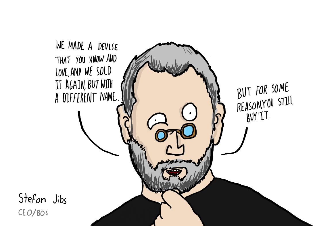 Stefon Jibs, not Steve Jobs