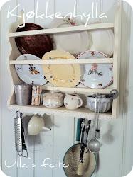Kjøkkenhylla