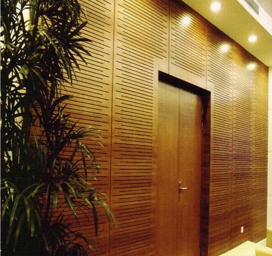 Foundation dezin decor elegant work of wood paneling - Interior wood wall panels ...