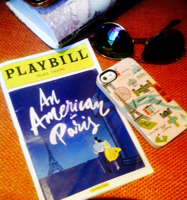 Time Square Broadway show - An American In Paris