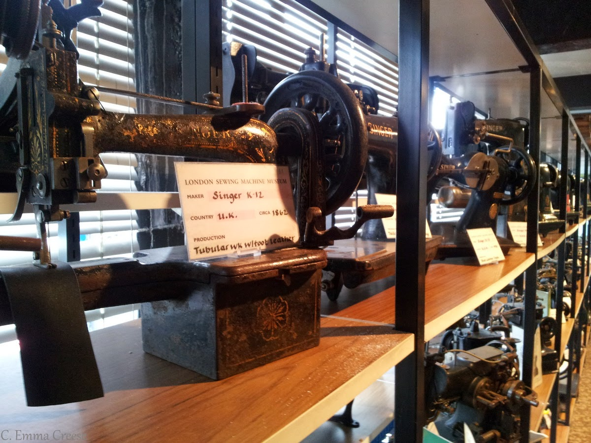 sewing machine museum