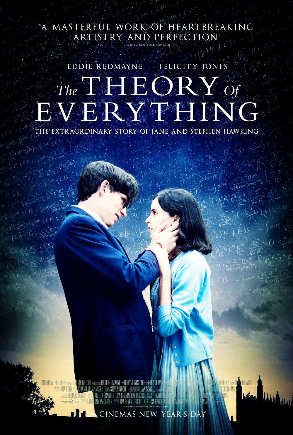 Sinopsis Film The Theory of Everything (Felicity Jones, Eddie Redmayne)