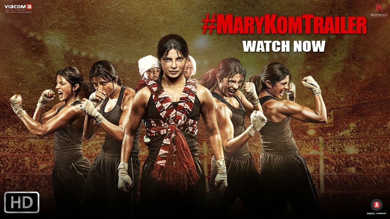 Mary Kom (2014) Theatrical Official HD Trailer