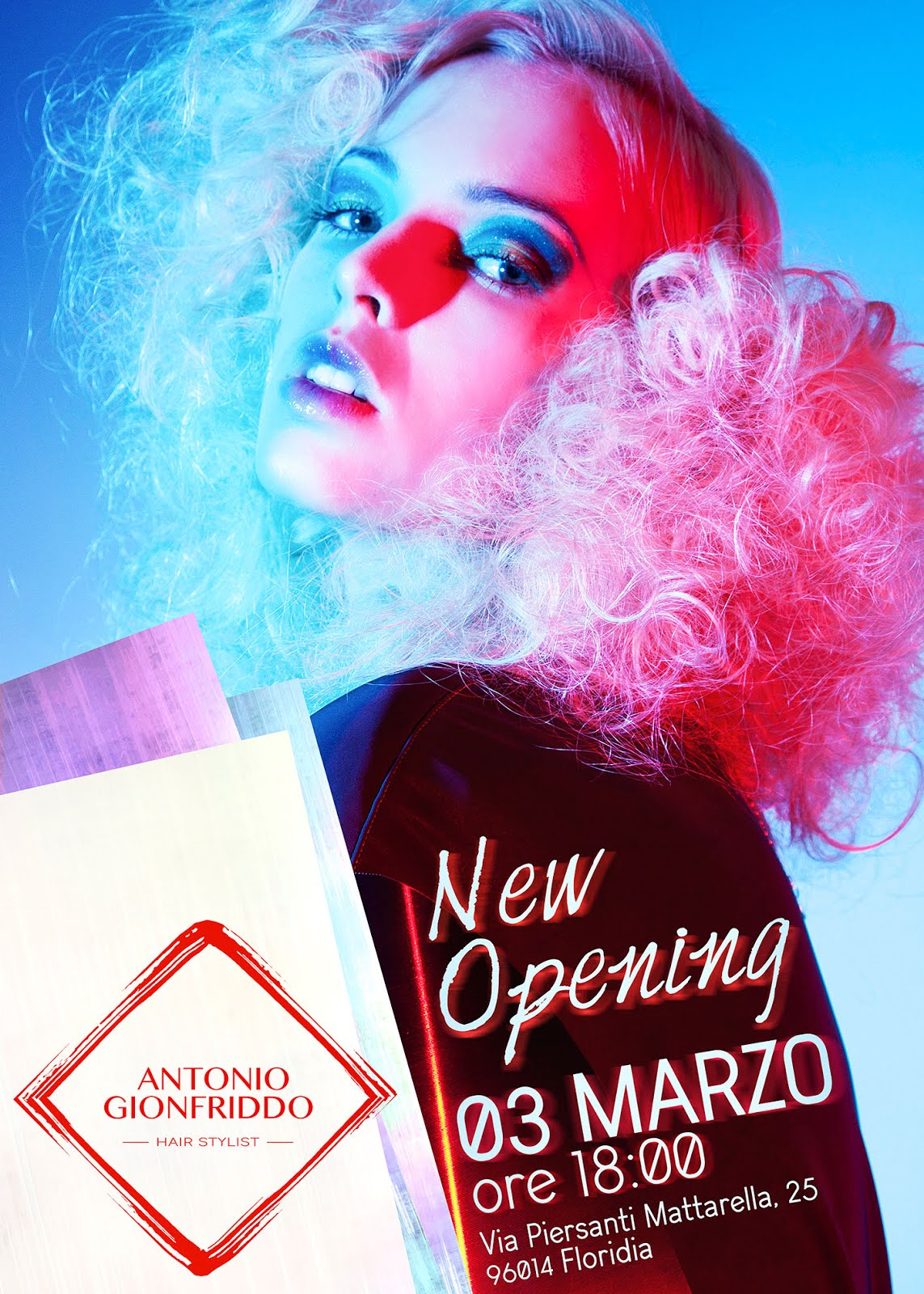 New Opening Event | Hair Stylist Antonio Gionfriddo