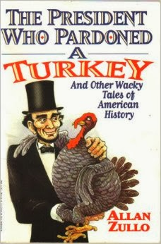 http://www.amazon.com/president-pardoned-turkey-American-history/dp/0816740593/ref=sr_1_1?ie=UTF8&qid=1389499929&sr=8-1&keywords=The+President++Who+Pardoned+a+Turkey