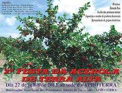 2ª Festa da Acerola