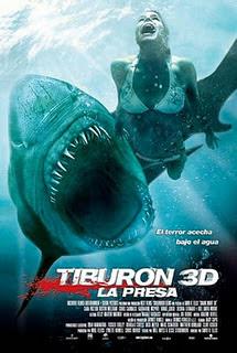 Póster de Tiburón 3D: La Presa