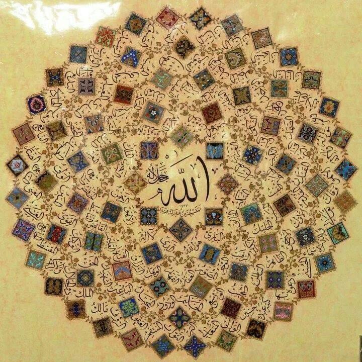 Les influences spirituelles des Noms d'Allah et l'adoration par les Noms Sublimes