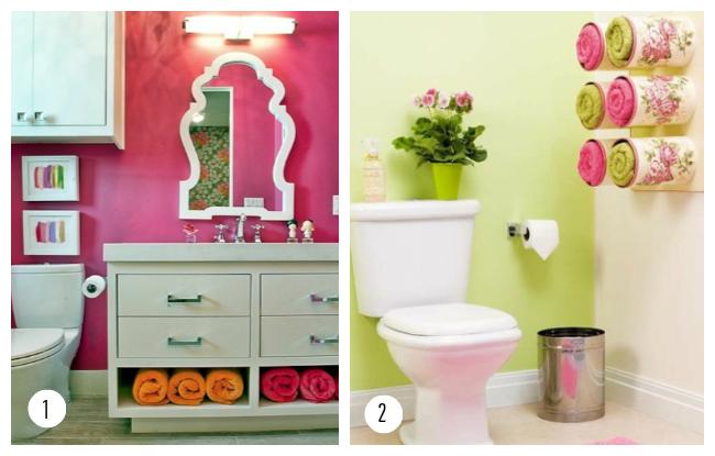 10 ideas para organizar toallas / Experimento Casa
