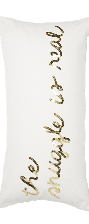 Bow & Drape 'The Snuggle Is Real' Sequin Pillow