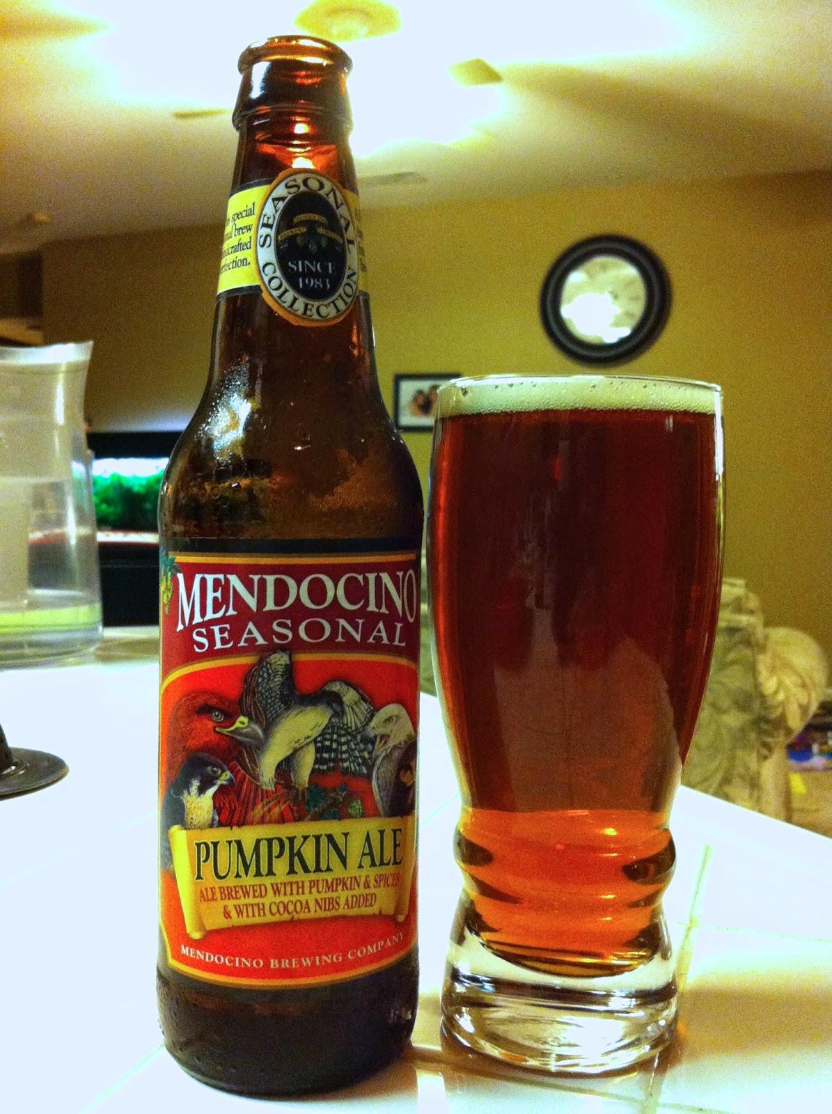 Mendocino Brewing Pumpkin Ale 1