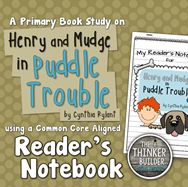 https://www.teacherspayteachers.com/Product/Henry-and-Mudge-in-Puddle-Trouble-A-Book-Study-670064