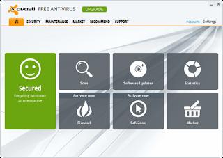 Avast! Free Antivirus 2013