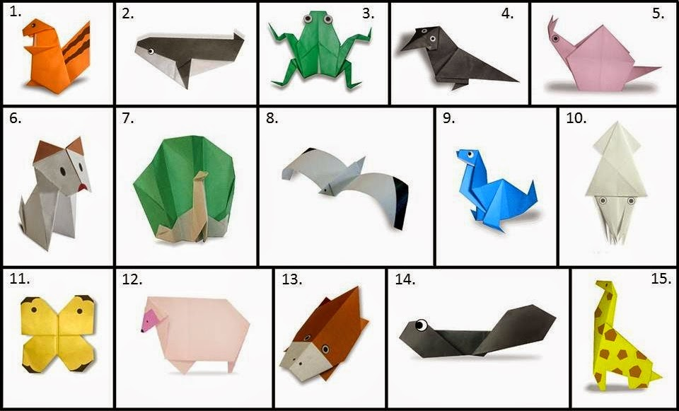 origami for kids animals