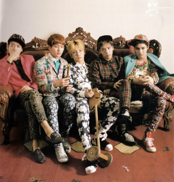 Shinee Dream Girl hq photobook scans pt. 1 group