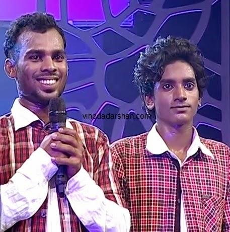 Winners of Amrita TV Lets Dance Season3 -Abhishek T.K and Sajith P.V: