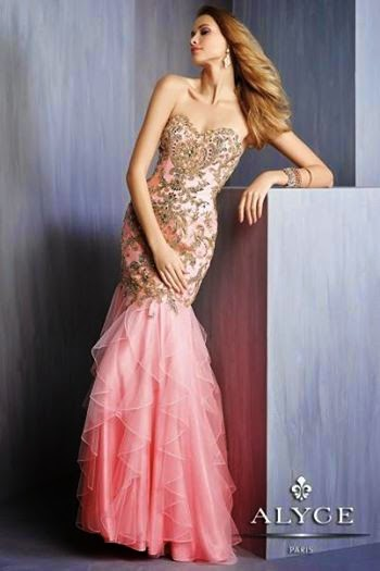 Prom Dress In Pink