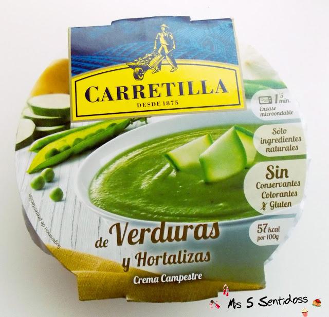 carretilla crema de verduras