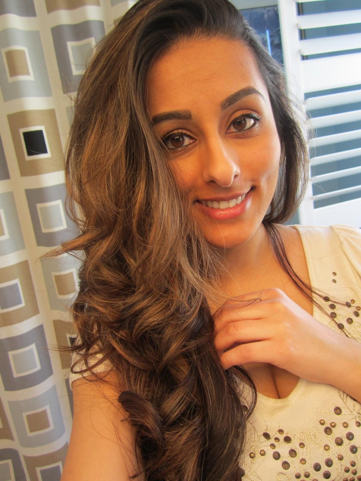Beauty By Moi Hair Tutorial Big Loose Voluminous Curls