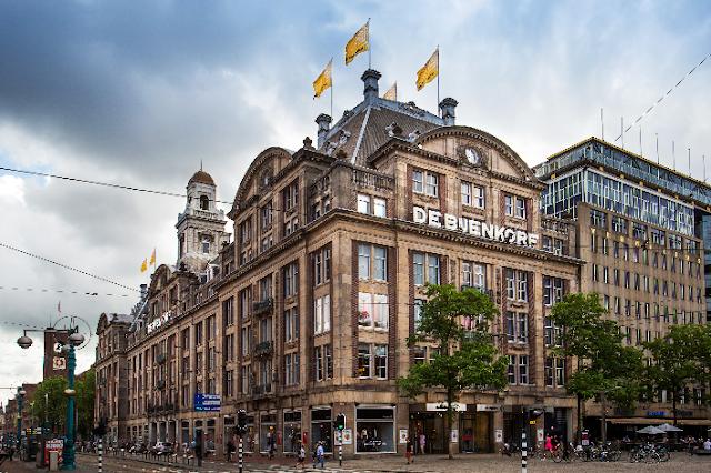 De Bijerkorf em Amsterdã