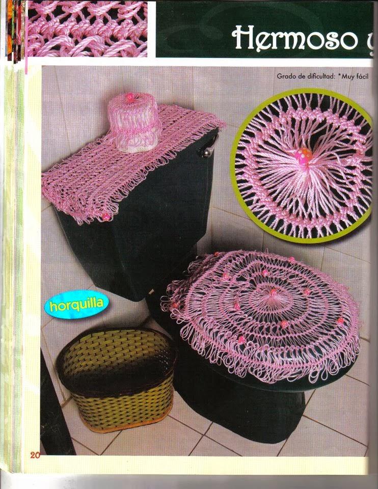 Decoracion De Baño En Crochet:Revista de crochet para el baño gratis – Revistas de manualidades