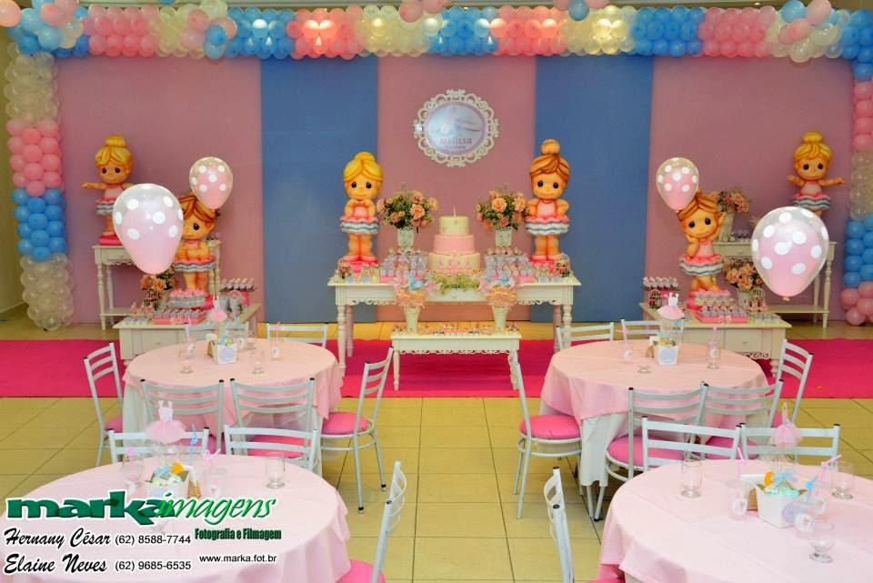 festa jardim azul e rosa:Pituquinha Festas: Festa Bailarina Rosa e Azul