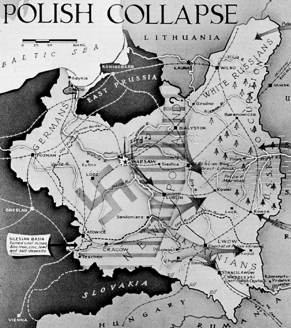 1939 invasion of poland The canadian war museum's world war 2 online newspaper archives - the invasion of poland, 1939 - this was the beginning of the second world war adolf hitler sent his troops into poland on september 1, 1939.