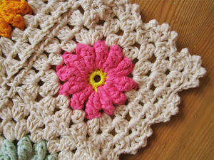 Flower Square Tutorial III