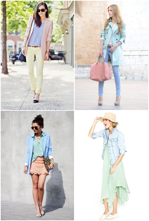 Inspiration: Pastels On Pastels, Tanvii.com