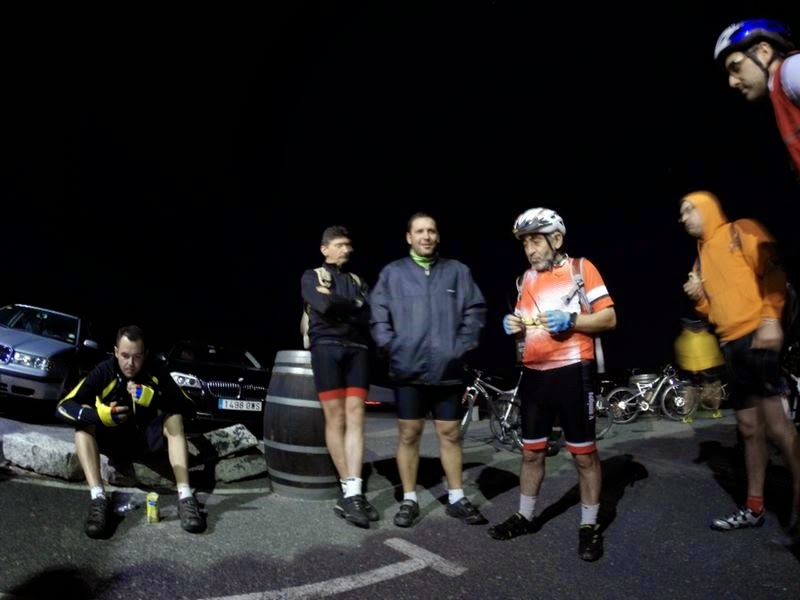 II Ruta MTB Nocturna 2014 Alfonsoyamigos