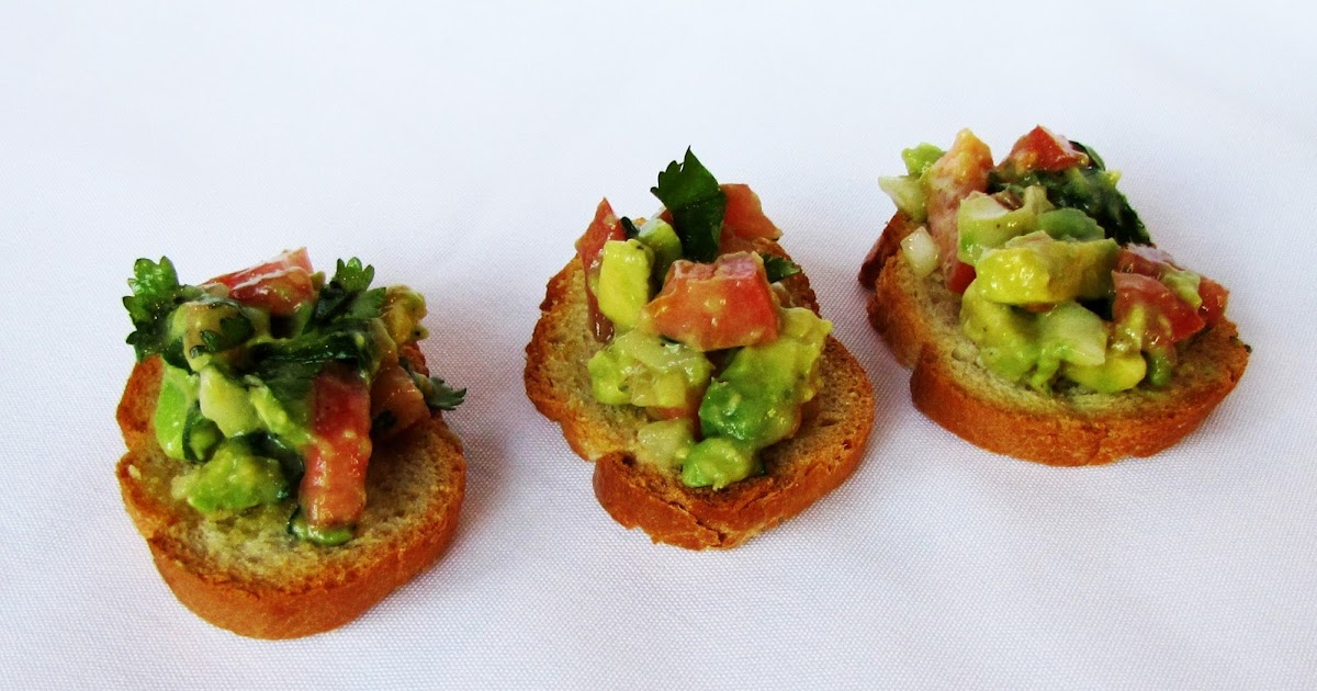 Rumbly in my Tumbly: Guacamole Bruschetta