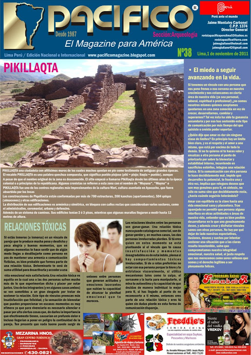 Revista Pacífico Nº 38 Arqueología