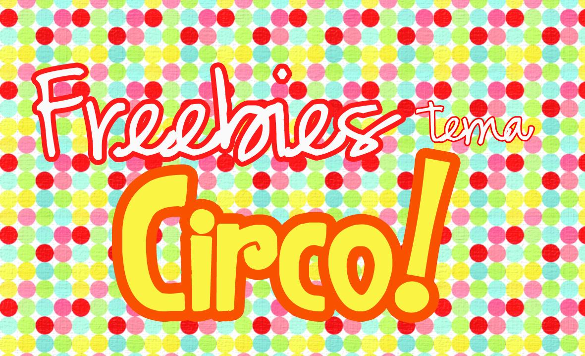 Freebies tema circo toppers e rótulos mint to be