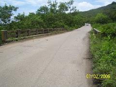 "Puente sobre la ""Quebrada Seca"""