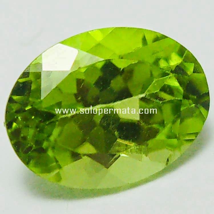 Batu Permata Green Peridot Asli - Sp062