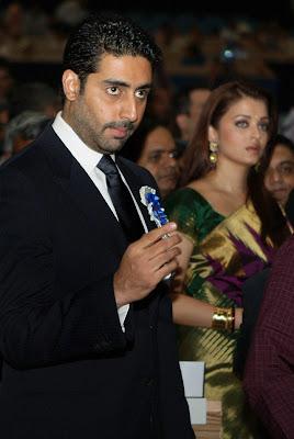 Aishwarya Rai and Abi