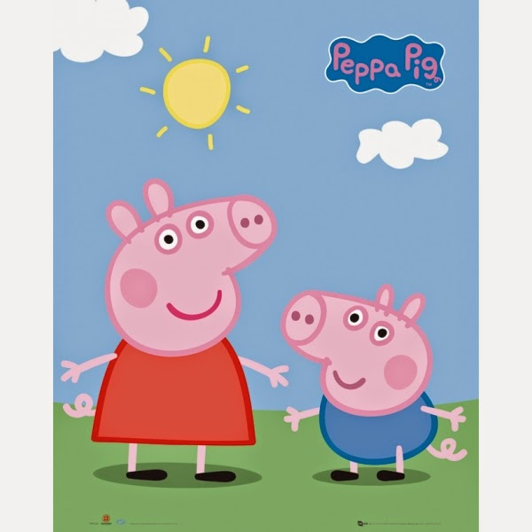 Peppa Pig and George ~ Tales from a 3 Year Old ~ thequirkyconfessions.com