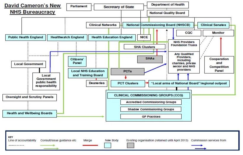 Rachel Eden's blog: New NHS structure diagram, what 'less ...