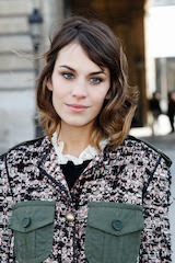 Alexa Chung 1 Fall hair trends 2012