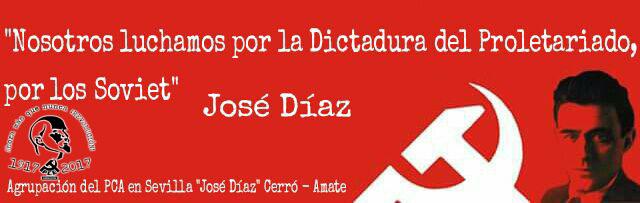 """Agrupación PCA """"José Díaz"""" Cerro-Amate"""