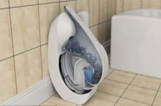 Hebat Toilet Canggih Ini Bisa Dilipat