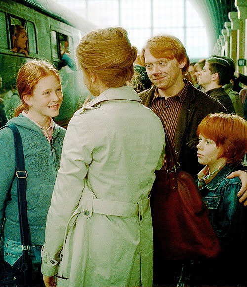 Hogwarts alumni ron and hermione family - Ron weasley and hermione granger kids ...