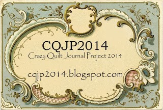 Crazy Quilt Journal Project 2014