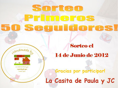 SORTEO EN LA CASITA DE PAULA Y JC