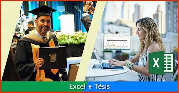 EXCEL 2016 mas TESIS