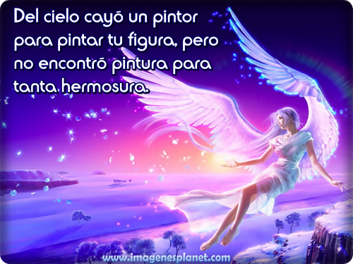Angeles con frases lindas - Imagui