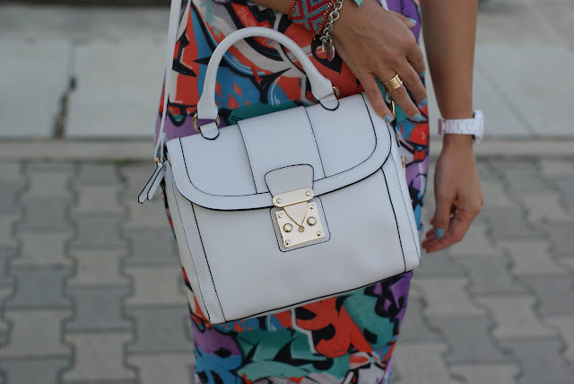 Asos white bag, borsa bianca, BVLGARI BZero ring, Fashion and Cookies
